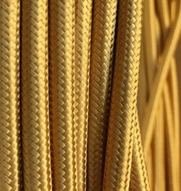 Gold Fabric Cable