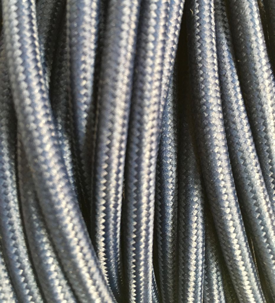 Navy Fabric Cable