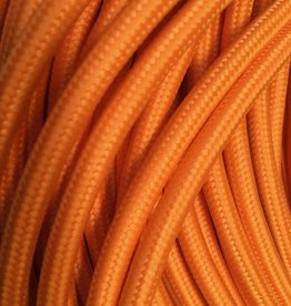 Orange Fabric Cable