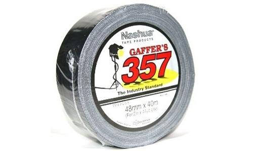 Nashua 357 Gaffa Tape Black