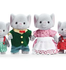 Calico Critters The Elwood Elephant Family