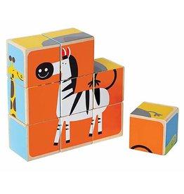 Hape Zoo Animals Block Puzzle E0421