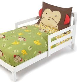 Skip Hop Skip Hop - 4pc Toddler Bedding Set Zoo Monkey