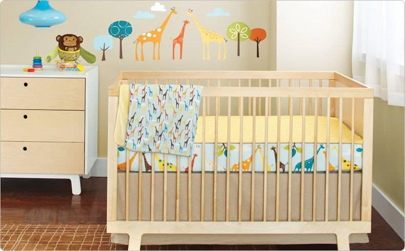 Skip Hop Giraffe Bedding Set