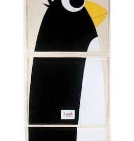 Penguin Storage Bin Hanging Wall Organizer