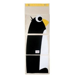 Penguin Storage Bin Hanging Wall Organizer