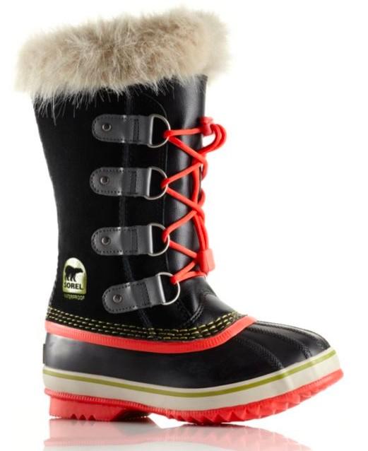 Sorel Youth Joan of Arctic Boots Black