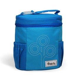 Zoli NOMNOM Insulated Lunch Bag Blue