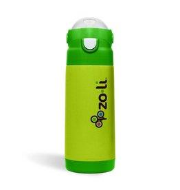 Zoli DASH Vacuum Insulated Bottle Green 10 oz
