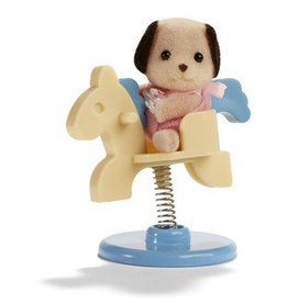Calico Critters Carry Case Playground Horse