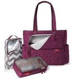 Skip Hop Forma Pack & Go Tote Berry