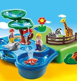 Playmobil 1.2.3 Take Along Zoo & Aquarium (6792)