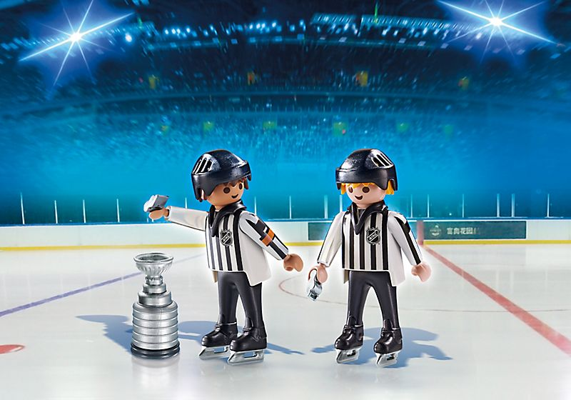 Playmobil NHL Referees with Stanley Cup (5070)