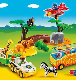 Playmobil 1.2.3. Large African Safari 5047