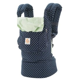 Ergobaby Original Baby Carrier - Indigo/Mint Dots