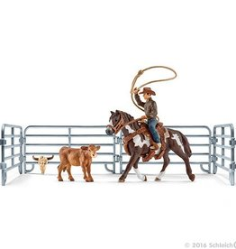 Schleich Team Roping with Cowboy (41418)