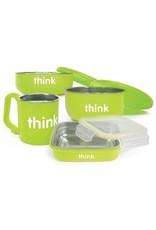 Thinkbaby Thinksport The Complete BPA Free Feeding Set Lt Green