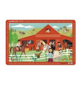 Crocodile Creek Horses Placemat