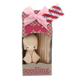 Seedling Color Me Kokeshi Doll