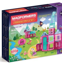 Magformers Princess Castle Set 78 piece
