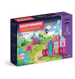 Magformers Princess Castle Set 78 piece