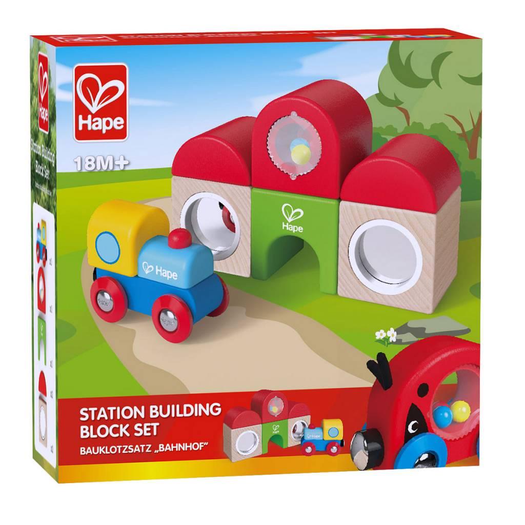 Hape Station Building Block Set E3802
