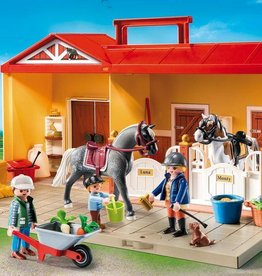 Playmobil Take Along Horse Stable (5671)