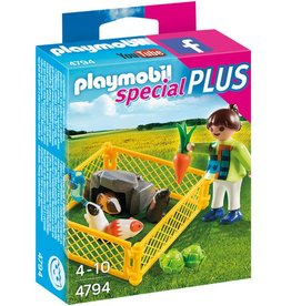 Playmobil Girl with Guinea Pigs (4794)