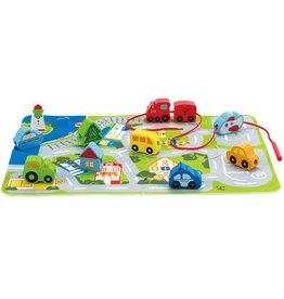 Hape Busy City Play Set E1022