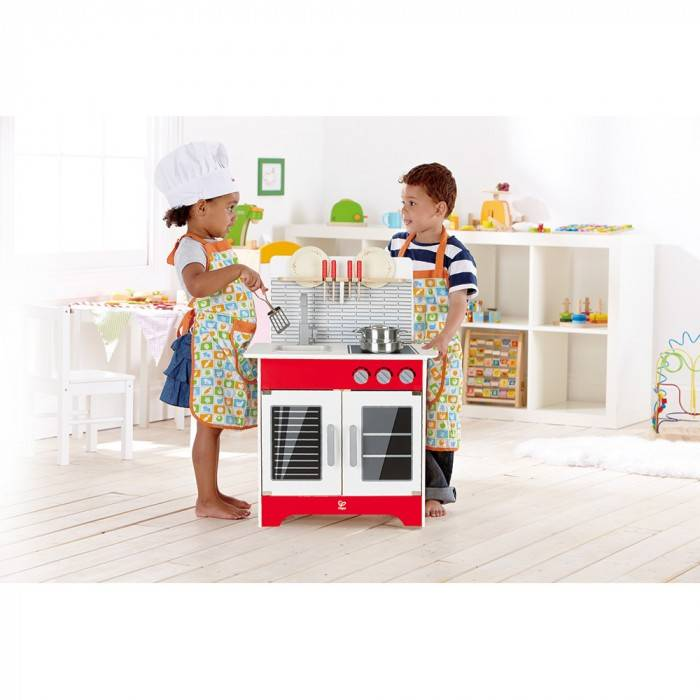 hape city cafe play kitchen e3144 - Play Kitchen