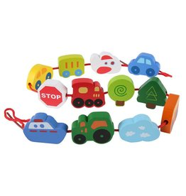 Hape Lacing Vehicles E0905