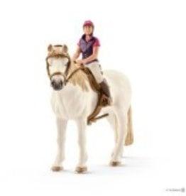 Schleich Recreational Rider with Horse (42359)