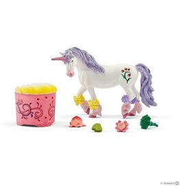 Schleich Unicorn and Pegasus care and feed set (42173)