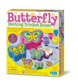 4M Butterfly Trinket Box
