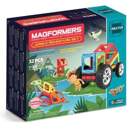 Magformers Jungle Adventure Set 32pcs