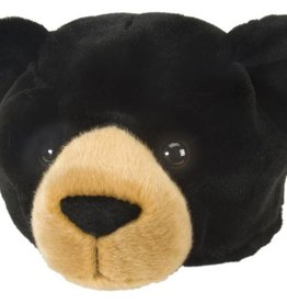 Wild Republic Plush Hat - Black bear