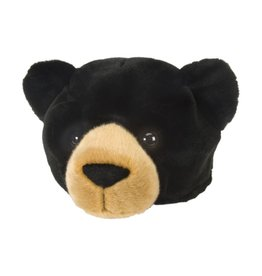 Wild Republic Plush Hat - Black bear