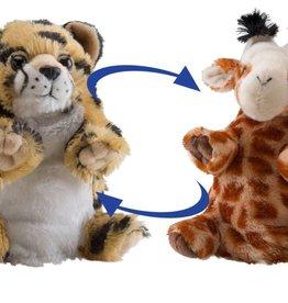 Wild Republic Switch A Roo Giraffe/Cheeta 7 Dash & Dots