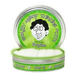 Crazy Aaron's Thinking Putty Small Tin - Krypton