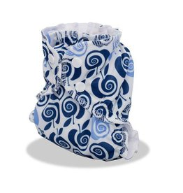 AppleCheeks Cloth Diaper Cover Out of the Blue