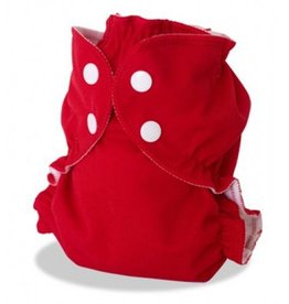 AppleCheeks Cloth Diaper Cover Cherry Tomato
