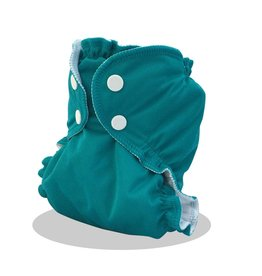 AppleCheeks Cloth Diaper Cover Kiss N' Teal
