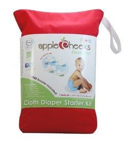 AppleCheeks Bamboo Cloth Diaper Starter Kit Size 1