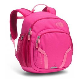 The North Face Youth Sprout Backpack - HONEYSUCKLE PINK/PURDY PINK