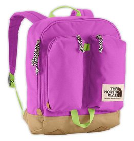 The North Face Youth Mini Crevasse Backpack - Sweet Violet/Budding Green