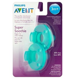 Avent Soothie 3M+ Green 2 Pack