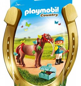 Playmobil Country Groomer w Butterfly Pony (6971)