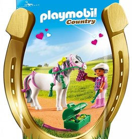Playmobil Country Groomer w Heart Pony (6969)