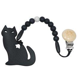 Glitter & Spice Kitty Teether - Midnight Black