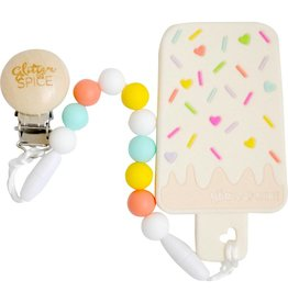 Glitter & Spice Ice Cream Bar Teether
